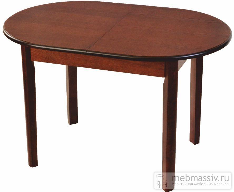 Стол обеденный овальный павлин раздвижной
